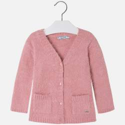 Mayoral pink cardigan