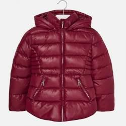 Mayoral bordó pufi kabát