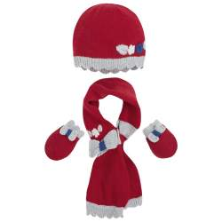 Mayoral hat with gloves and scarf