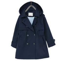 ZARA sötétkék kabát