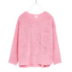 ZARA rózsaszín vékony pulóver