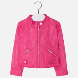 Mayoral pink műbőr kabát