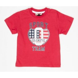 Gatti red T-Shirt with letters