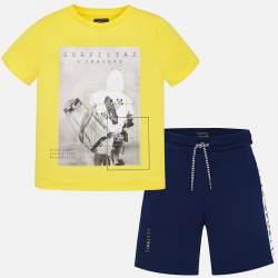 Mayoral/Nukutavake póló + rövidnadrág szett