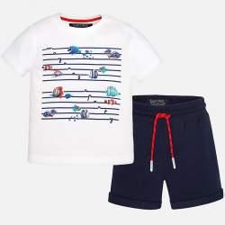 Mayoral póló + rövidnadrág szett