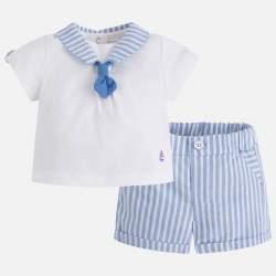 Mayoral elegant shirt + shorts
