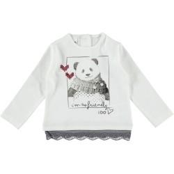 IDO long sleeve t- shirt with panda