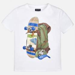 Mayoral T-shirt with backpack