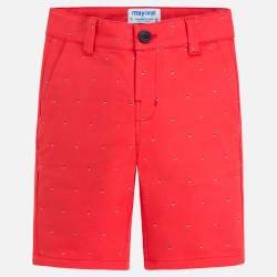 Mayoral dotted red shorts