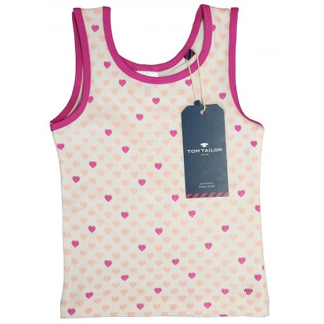 Tom Tailor vest top with heart