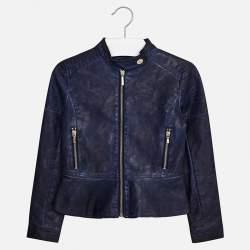 Mayoral kék műbőr kabát