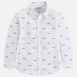 Mayoral autós fehér ing