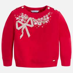 Mayoral piros masnis pulóver