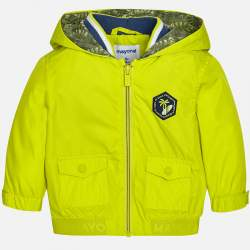 Mayoral neon green wind jacket