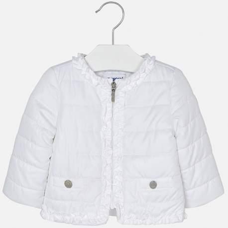 Mayoral white wind jacket