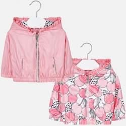 Mayoral rózsaszín kifordítható széldzseki