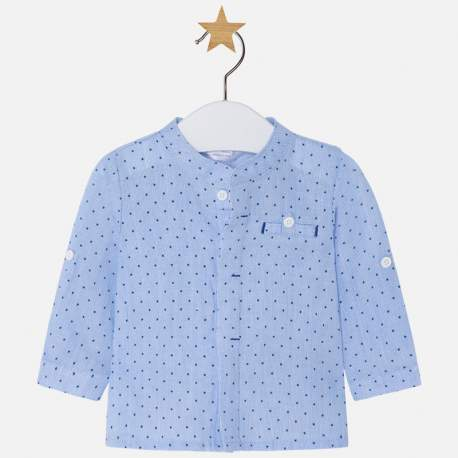 Mayoral elegáns kék ing