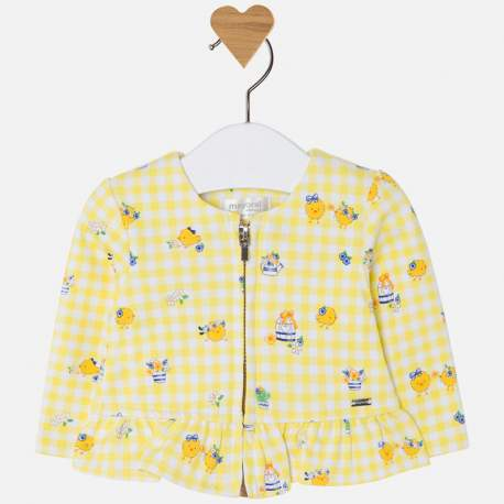 Mayoral yellow jacket with birds