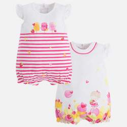 Mayoral rompers - 2 pieces