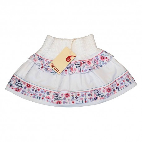 Brums skirt with flowers