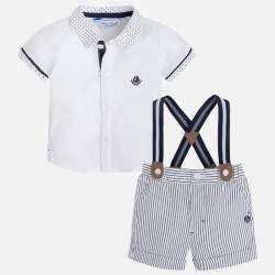 Mayoral  shirt + elegant short