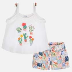 Mayoral kaktuszos trikó + rövidnadrág