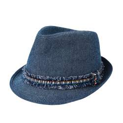 ZARA blue hat