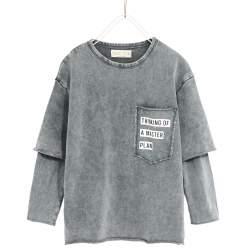 ZARA feliratos pulóver