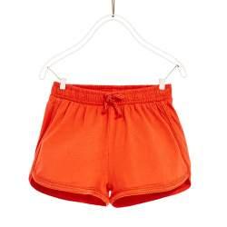 ZARA piros rövidnadrág