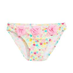 ZARA bikini bottoms with flowers