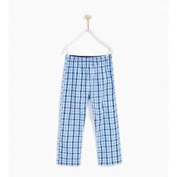 ZARA kockás pizsama nadrág