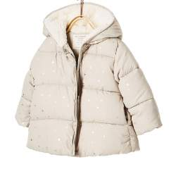 ZARA beige wintercoat