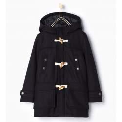 ZARA black cloth coat