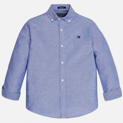 Mayoral blue shirt