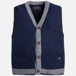 Mayoral blue knitted vest
