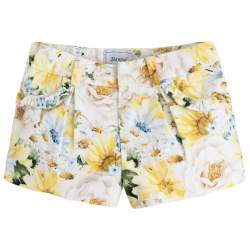 Mayoral shorts with flowers