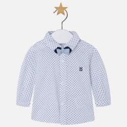 Mayoral shirt with polka dots