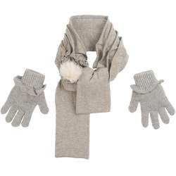 Mayoral gloves and scarf