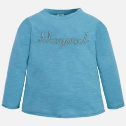 Mayoral blue long sleeve T-shirt