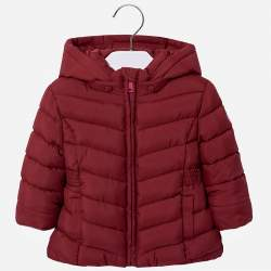 Mayoral claret hooded jacket