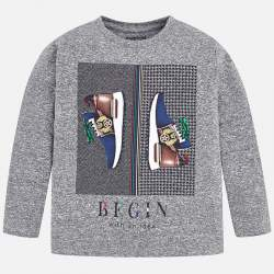 Mayoral long sleeve T-Shirt with shoes