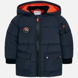 Mayoral padded hooded jacket