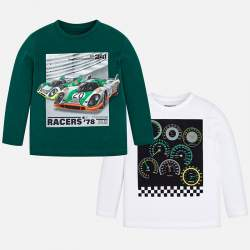 Mayoral long sleeve T-Shirt with Porsche 917