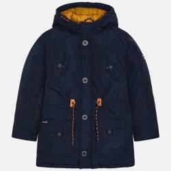 Mayoral blue jacket with hoodie
