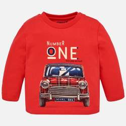 Mayoral long sleeve T-Shirt with Mini Morris