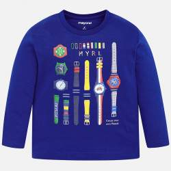 Mayoral long sleeve T-Shirt with watches