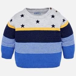 MAYORAL blue knittwear cardigan