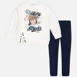 Mayoral sweatshirt leggings set