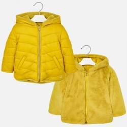 Mayoral yellow double-sided jacket