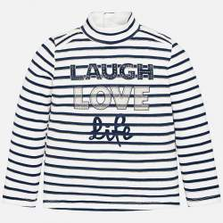Mayoral striped long sleeve t-shirt